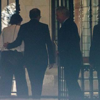 Quim Torra arriba al Palau de la Generalitat