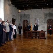 Presa de possessió de Quim Torra, 131è president de la Generalitat