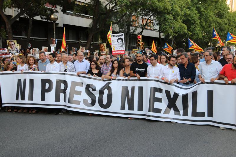 Resultat d'imatges de ni presó ni exili us volem a casa