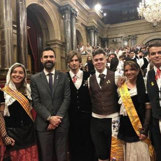 Pubilles de Comarques Gironines i Catalunya amb Hereus i el President