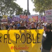 Els CDR convoquen una marxa silenciosa al final de Rambla de Barcelona