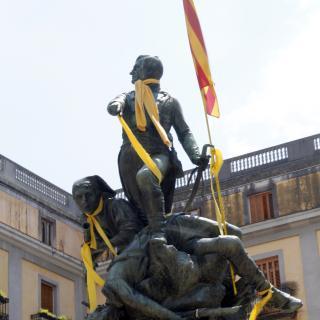 Plaça de la Independència de GironGirona