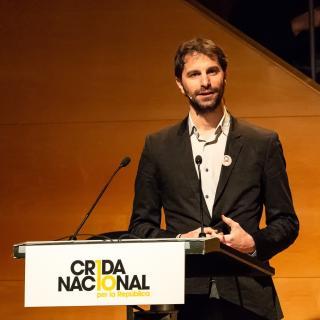 Crida Nacional per la Repúbica presentació a Girona 17 12 18