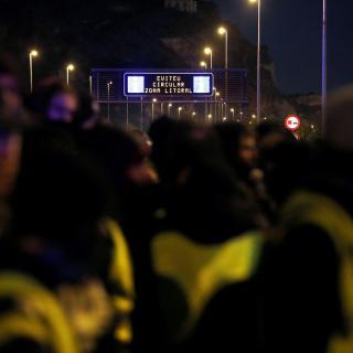 La Generalitat ha recomanat que avui divendres es limitin els desplaçaments en vehicle a l'àrea de Barcelona