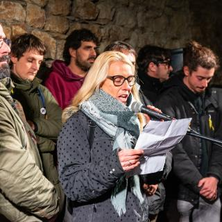 16 01 10 Girona protesta detenció Independentistes