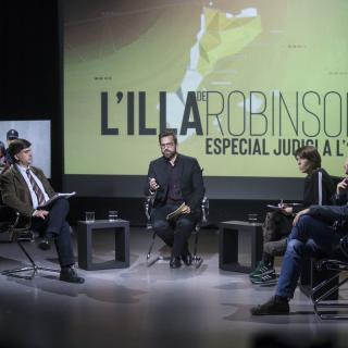 L'Illa de Robinson ha tornat aquest dimarts a la graella d'El Punt Avui TV coincidint amb l'inici del judici