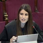 L'advocada de l'estat Elena Sáenz Guillén