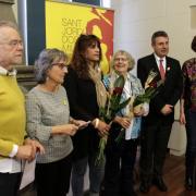 L'esmorzar del món literari de Girona dedicat aquest any a l'escriptor i activista per la llengua Pere Verdaguer