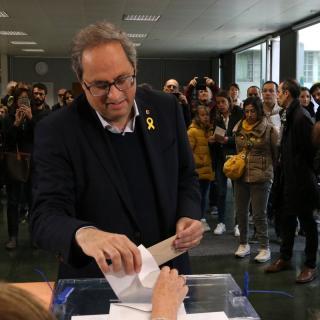 Quim Torra, president de la Generalitat de Catalunya