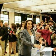 Ada Colau, candidata de BComú a la reelecció com a alcaldessa de Barcelona