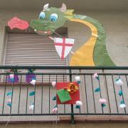 participat del Concurs de Balcons d'Arenys de Mar.