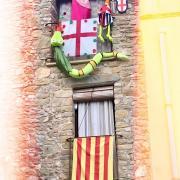 A S. Jordi  Desvalls  ara era Festa Major. Aquest any els veins ens hem quedat a casa, pero els 4gats ens han organitzat la festa a casa.