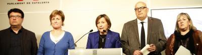 Enquesta: La nova querella de la Fiscalia espanyola contra Forcadell reforça o afebleix l'independentisme?