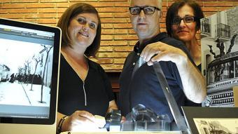 D'esquerra a dreta, Eugènia Andreu, Miquel Andreu i Dolors Ferrer Foto:Ramon Ferrandis