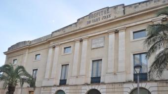 Les antigues dependències de l'Hospital de Sant Joan acullen el departament d'Emergències i Protecció Civil Foto:Reusdigital.cat