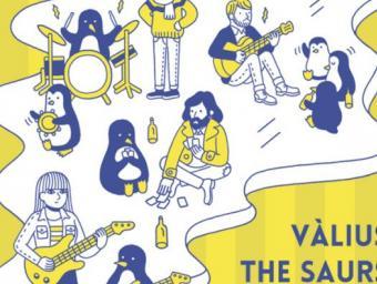 Cartell de la primera edició del Festival Pingüí Foto:Cedida