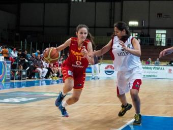 Maria Martiañez, al Campionat del Món sub17 Foto:FIBA