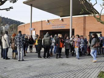 els treballors van rebre les cartes de comiat el dia 5 febrer Foto:Ramon Ferrandis