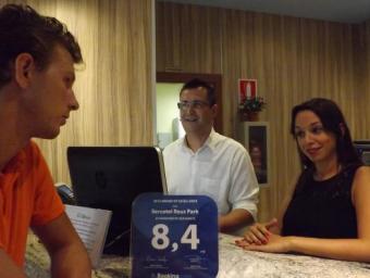 L'Hotel Reus Park ha assolit un 40% d'ocupació al juliol Foto:Isabel Martínez