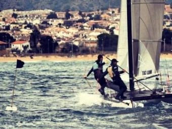 Alberto Torné és esportista d'elit de vela Foto:Cedida