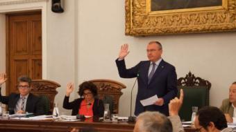 El plenari ha aprovat la signatura del conveni amb l'Ajuntament de Tarragona Foto:Fabián Acidres