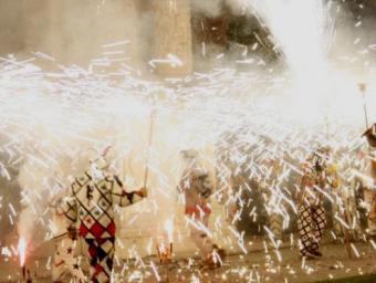 Actuació dels Diables de Reus Foto:Josep Gallofré