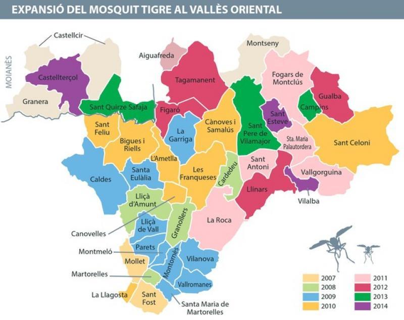 Mapa valles oriental - Casas en el valles occidental ...