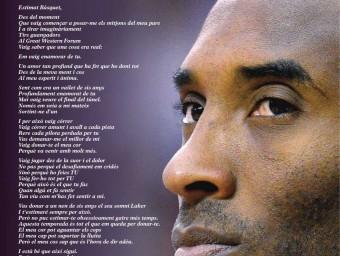 La carta de Kobe Bryant