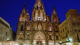 Fira de Santa Llúcia a Barcelona Foto:ARXIU