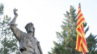 L'escultura pública dedicada a Pere Joan Barceló 'Carrasclet' Foto:ARXIU