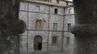 L'edifici de l'Audiència on hi havia el capítol catedralici durant l'època de l'ardiaca Andreu Alfonsello.  Foto:LL. SERRAT