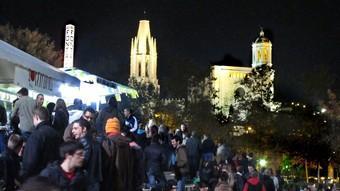 Una multitud ha passat aquests dies per les barraques de la Copa de Girona.  Foto:LLUÍS SERRAT