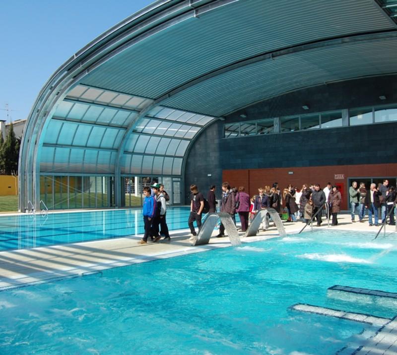 Premi de mar inaugura la segona piscina municipal el for Piscina premia de mar