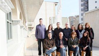 Onze persones formen part de l'equip d'Administració, Finances i Recursos Humans. Foto:ORIOL DURAN