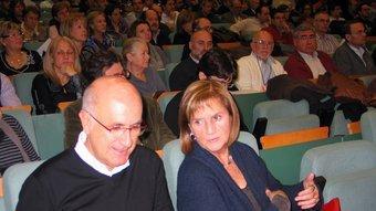 Josep Antoni Duran, ahir amb Núria de Gispert al consell nacional d'Unió Foto:REDACCIÓ