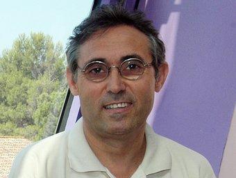 Francesc Martos, a la seu del PTV, a Cerdanyola.  Foto:ORIOL DURAN