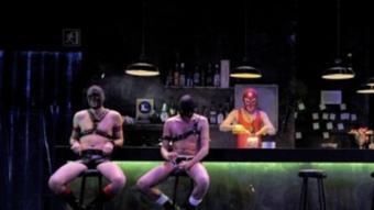 L'obra de teatre Gang Bang.   Foto:DAVID RUANO