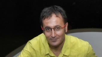 Xavier Graset, periodista, ara treballant a Catalunya Ràdio Foto:ARXIU