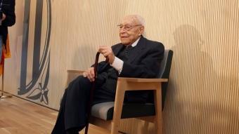 El doctor Moisès Broggi, a l'hospital de Sant Joan Despí que porta el seu nom Foto:ORIOL DURAN