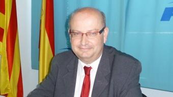 Josep Ramon fotografiat a la seu del PP de Vilafranca en una imatge d'arxiu Foto:A.M
