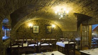 Imatge actual de l'interior del restaurant. Foto:LLUÍS SERRAT