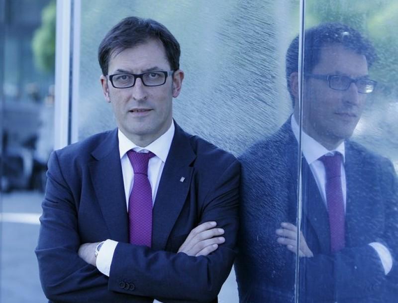 Xavier López treballa en un pla d'emprenedoria.  Foto:ARXIU / ORIOL DURAN