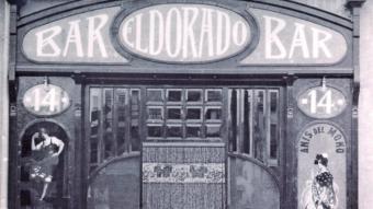 Bar el Dorado, entre els anys 1920 i 1930  L'American Bar, més conegut com a can Montaña, un dels més populars de la Rambla a l'any 1929.  Foto:ARXIU IMATGES AJUNTAMENT DE GIRONA CRDI ARXIU IMATGES AJUNTAMENT DE GIRONA CRDI