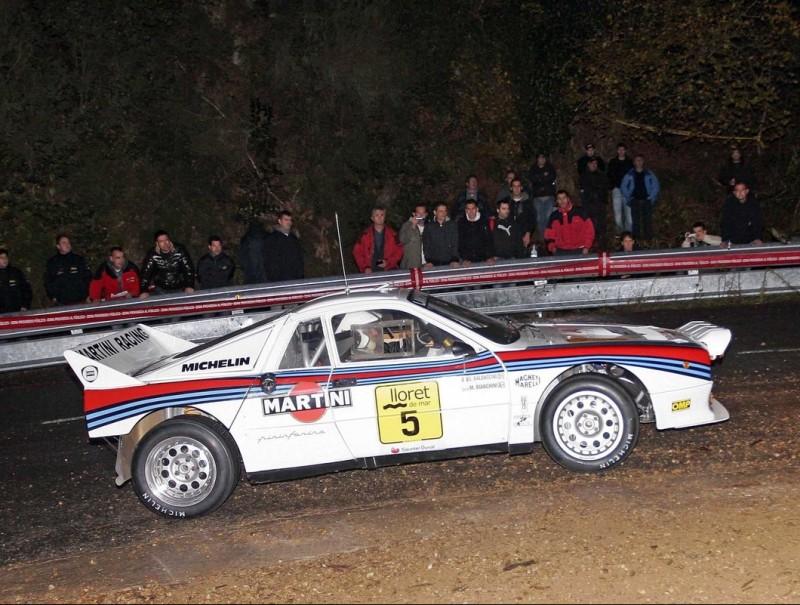 El Lancia 037 de Bianchini, guanyador del 2010. Foto:EL 9