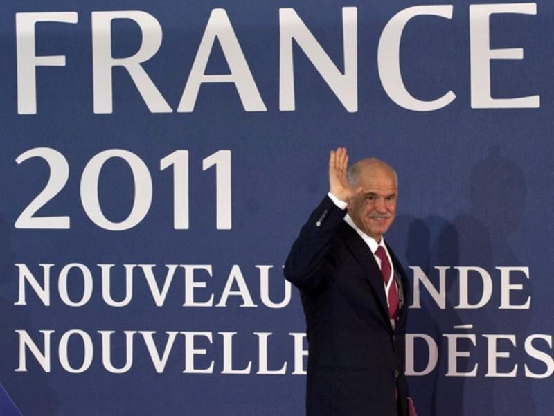 Iorgios Papandreu, a la cimera del G-20.