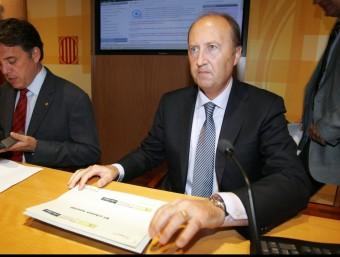 Lleonard Carcolé, director de l'ACA.  Foto:JUANMA RAMOS