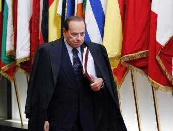 Silvio Berlusconi, primer ministre italià Foto:ARXIU