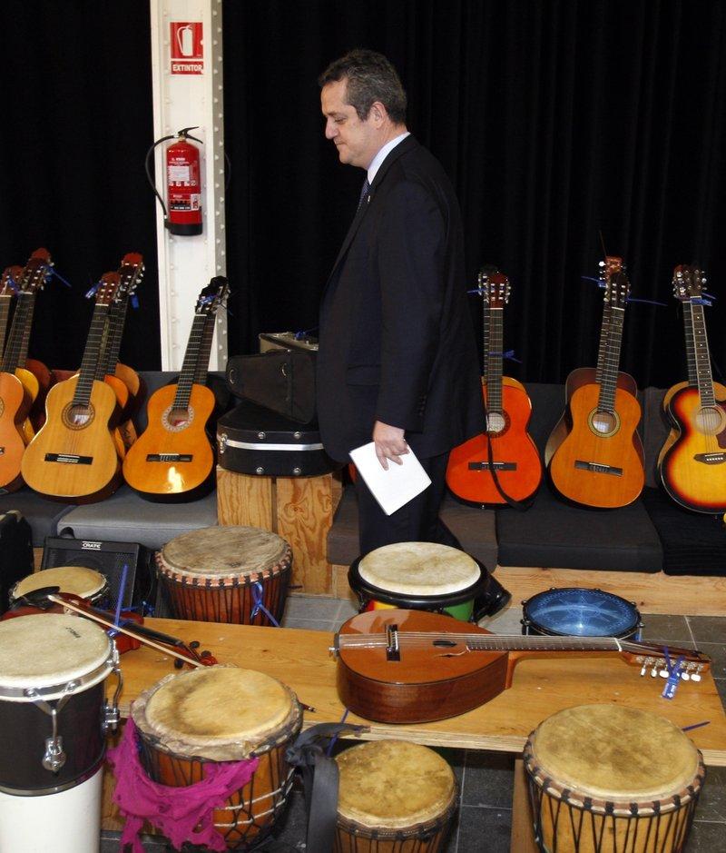 11 nov 2011 barcelona d na instruments decomissats a for Escoles de disseny d interiors a barcelona