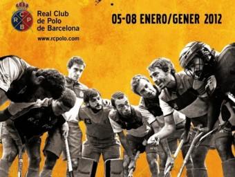 El cartell d'aquest any del torneig internacional Hoquei Reis. Foto:R.C.P