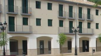 La plaça dedicada a Martí Royo, a Altafulla, en una fotografia d'arxiu Foto:MONTSERRAT PLANA